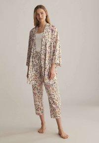 OYSHO - Pyjama bottoms - white - 1