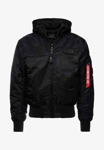 TEC BACKPRINT EXCLUSIV - Bombertakki - black/red