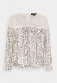 Dorothy Perkins - INSERT SEQUIN LONG SLEEVE - Blouse - champagne - 3