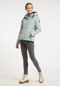 Schmuddelwedda - Winter jacket - rauchmint melange - 1