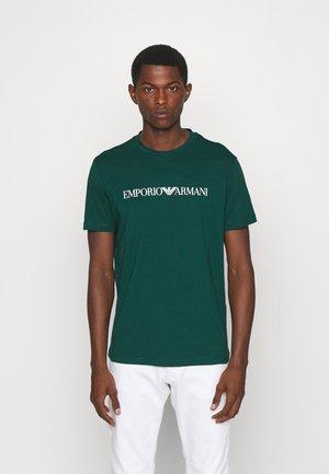 T-shirts print - verde scuro