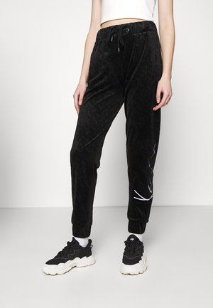 SIGNATURE PANTS  - Tracksuit bottoms - black
