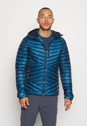 APPROACH HOODY - Down jacket - astral blue