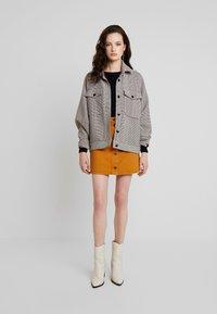 Monki - MARY SKIRT - A-line skirt - tobacco - 1