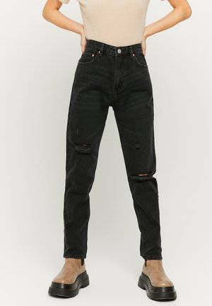 Relaxed fit jeans - blk
