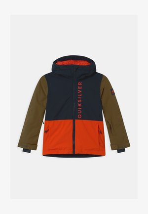 SIDE HIT UNISEX - Snowboard jacket - pureed pumpkin