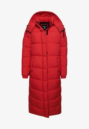 TOUCHLINE LONGLINE PADDED - Winter coat - high risk red
