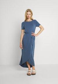 Object - OBJANNIE NADIA DRESS - Maxi dress - ensign blue - 0