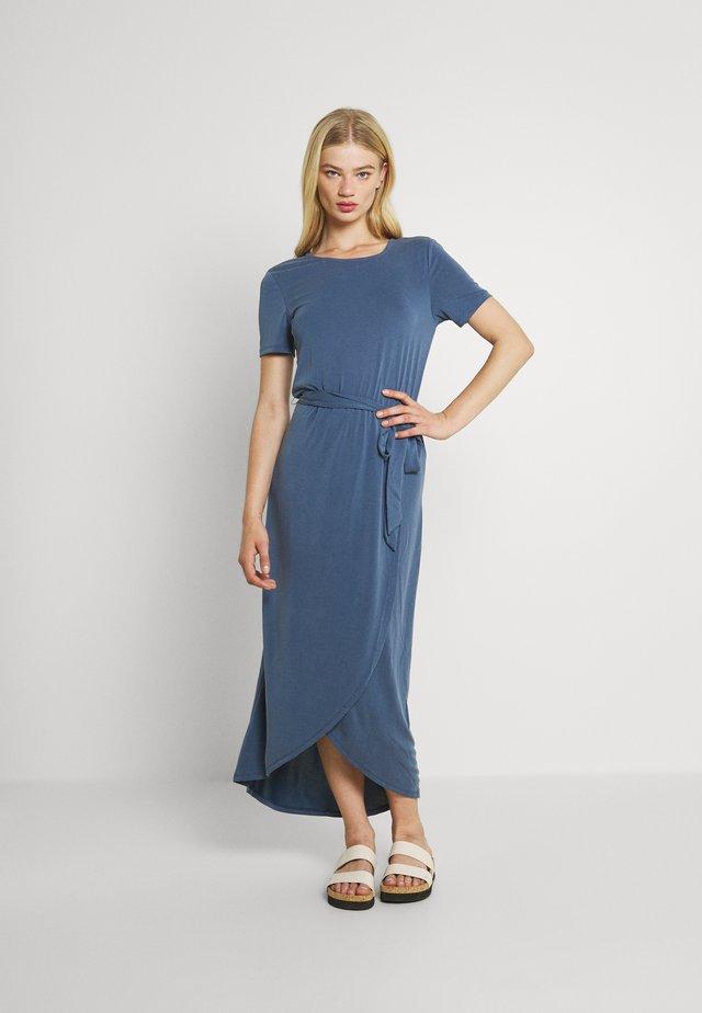 OBJANNIE NADIA DRESS - Maxi-jurk - ensign blue