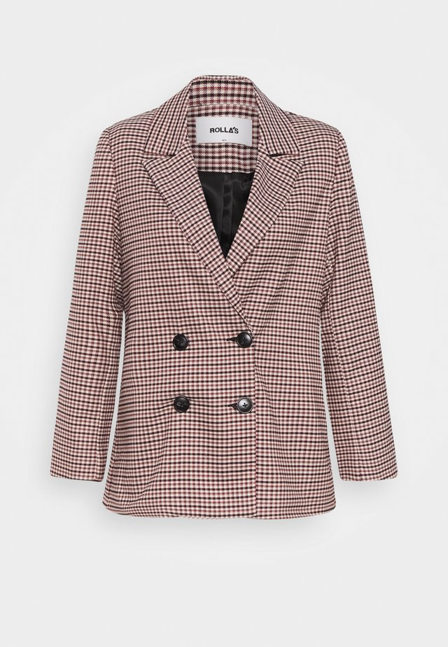 DOWNTOWN CHECK BLAZER - Blazere - downtown check