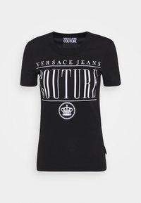 Versace Jeans Couture - T-shirt z nadrukiem - nero - 0