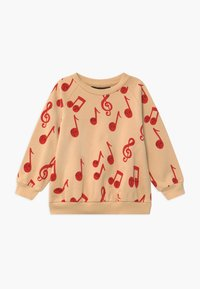 Mini Rodini - BABY NOTES AOP SWEATSHIRT - Mikina - beige - 0