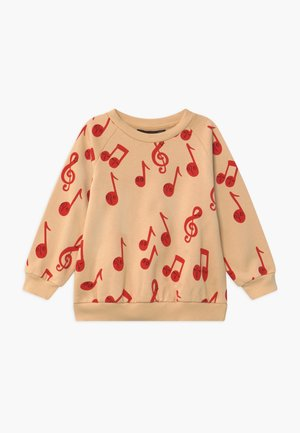 BABY NOTES AOP SWEATSHIRT - Mikina - beige