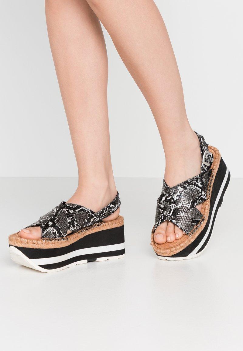 Replay - MYERS - Platform sandals - grey