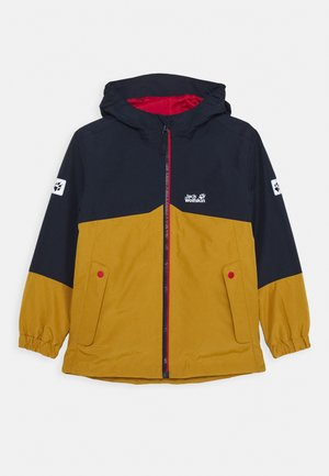2-IN-1 UNISEX - Outdoorová bunda - golden amber