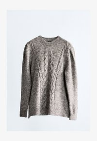 Massimo Dutti - Jumper - light grey - 2