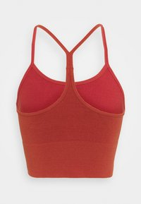 ONLY Play - ONPJARI CROP - Light support sports bra - red ochre - 1