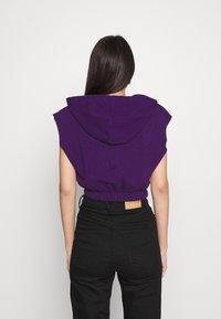 Topshop - HOOD - Print T-shirt - purple - 2