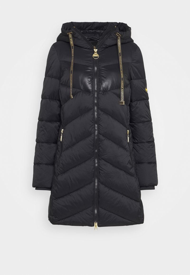Barbour International - PORTIMAO QUILT - Winter coat - black