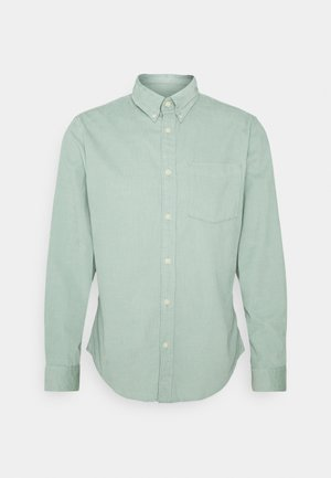 SLHSLIMOSCAR SLIM FIT - Shirt - green milieu