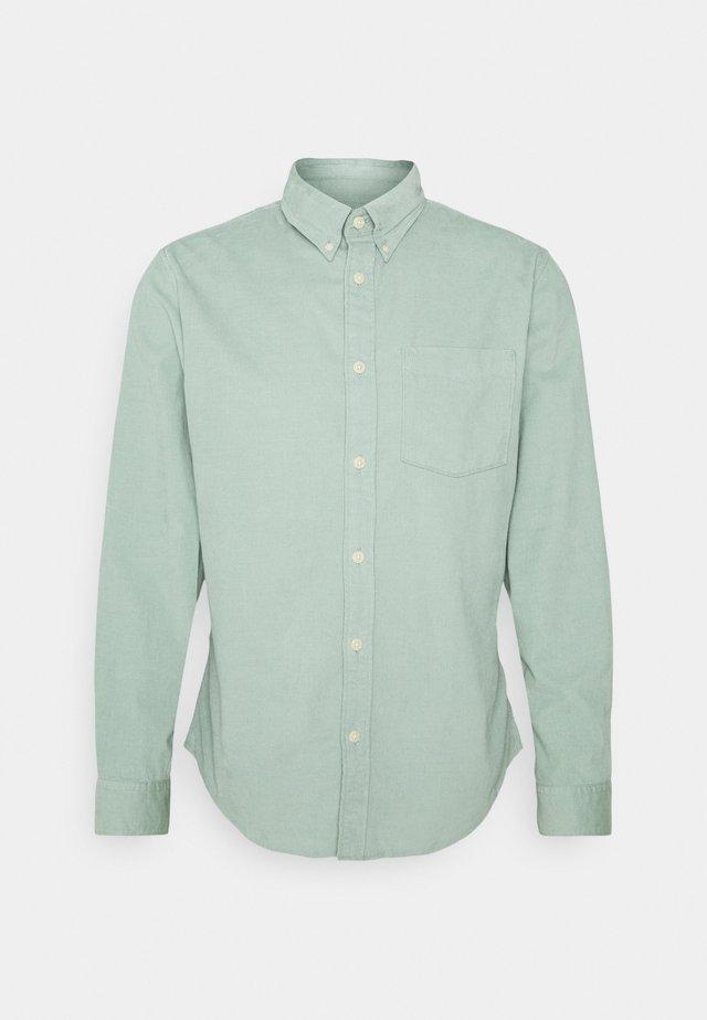 SLHSLIMOSCAR SLIM FIT - Overhemd - green milieu