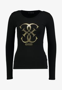 Guess - T-shirt à manches longues - jet black - 3