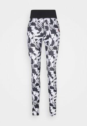 SCRIBBLE - Legging - black/white