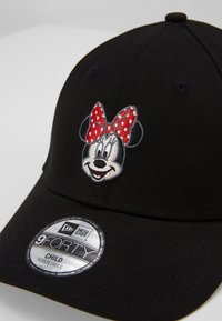 New Era - BABY DISNEY CHARACTER FACE 9FORTY - Gorra - black - 3