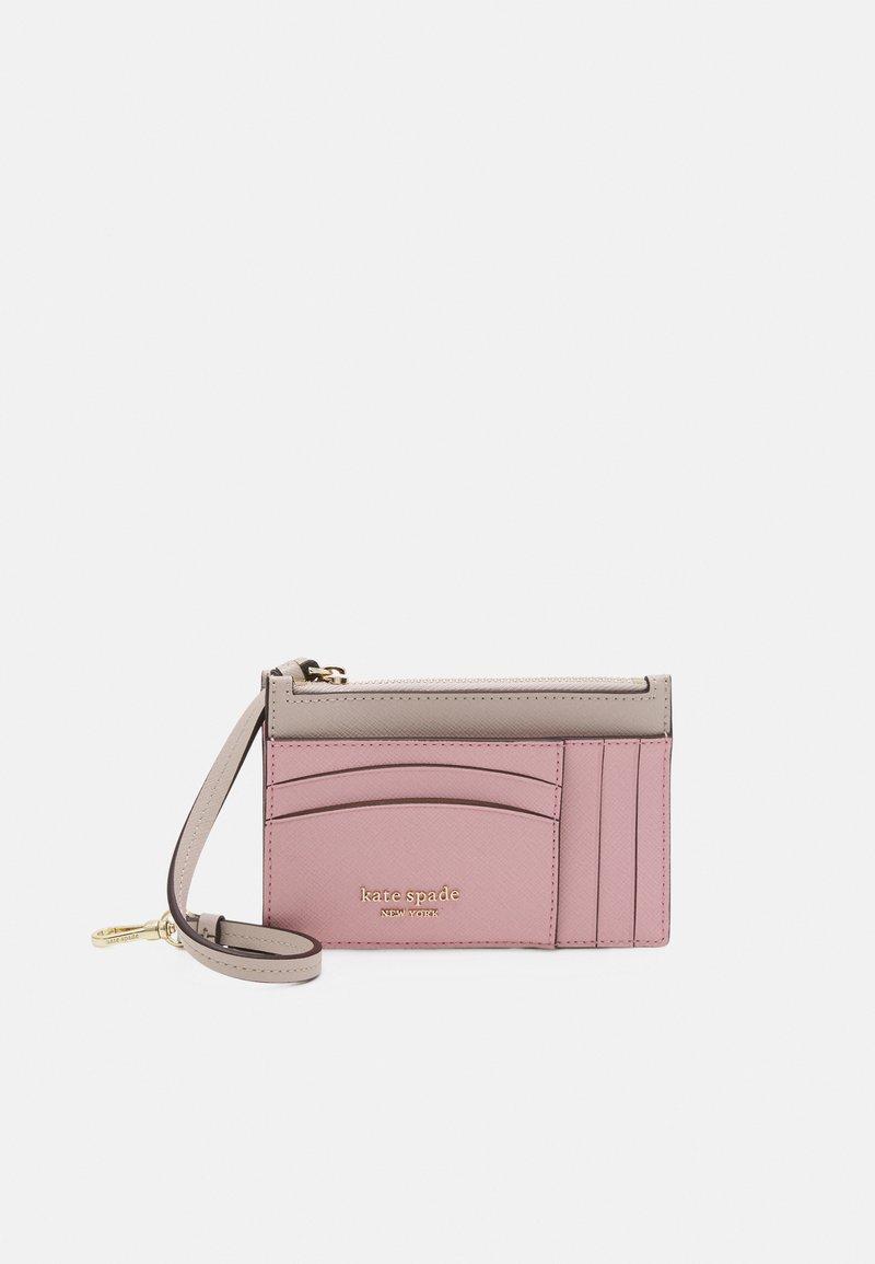 kate spade new york - CARD CASE WRISTLET - Peněženka - tutu pink/crisp linen