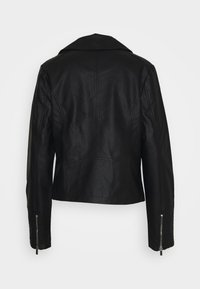 New Look Tall - DAFODIL JACKET  - Imitert skinnjakke - black - 1