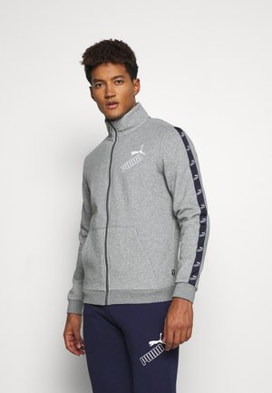 AMPLIFIED SUIT - Tracksuit - medium gray heather