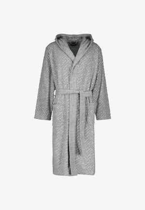 LOGO TERRY ROBE - Dressing gown - grau