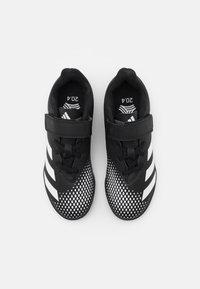 adidas Performance - PREDATOR 20.4 FOOTBALL TURF UNISEX - Astro turf trainers - core black/footwear white - 3
