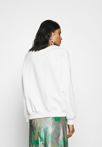 Even&Odd - FLOWER  PRINTED SWEATER - Sweatshirt - white - 2