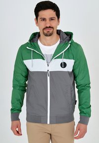 INDICODE JEANS - CHICKSAND - Outdoor jacket - green - 0