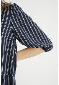 InWear - VIKSA LONG DRESS - Day dress - marine blue stripe - 4