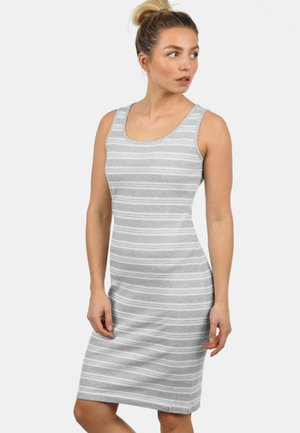 RAHILE - Jersey dress - light grey