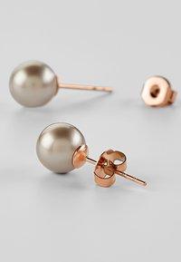 Heideman - MIT PERLE - Earrings - platinum - 3