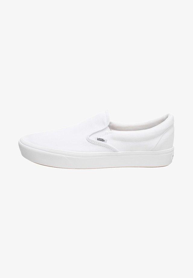 UA  COMFYCUSH SLIP-ON  - Sneakers - white