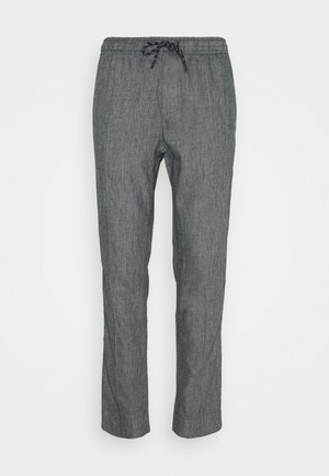PINTUCK PANT - Pantaloni - midnight