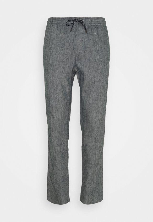PINTUCK PANT - Pantaloni - midnight