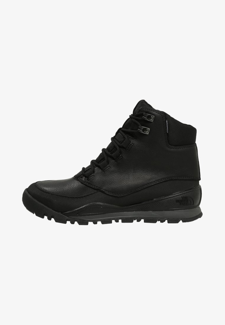 The North Face - EDGEWOOD 7   - Hiking shoes - black/dark