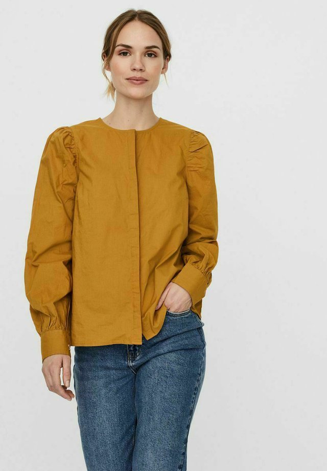 Blouse - gold