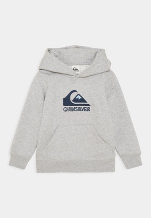 BIG LOGO - Mikina s kapucí - light grey heather
