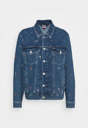 TRUCKER JACKET - Jeansjakke - denim light