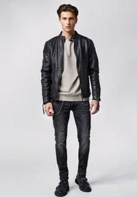 Tigha - FRANKLYN - Leather jacket - black - 1