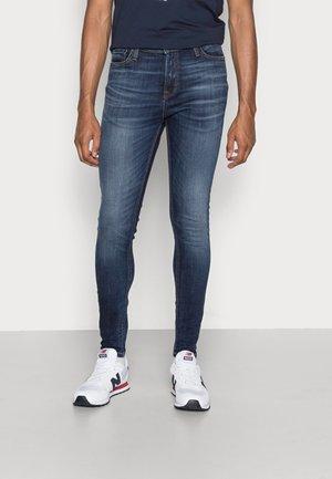 JJIPETE JJORIGINAL - Jeans Skinny Fit - blue denim