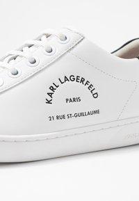 KARL LAGERFELD - KUPSOLE II MAISON LACE - Tenisky - white - 2