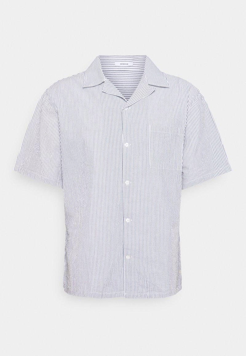 Denham - BOWLING - Shirt - blue/white