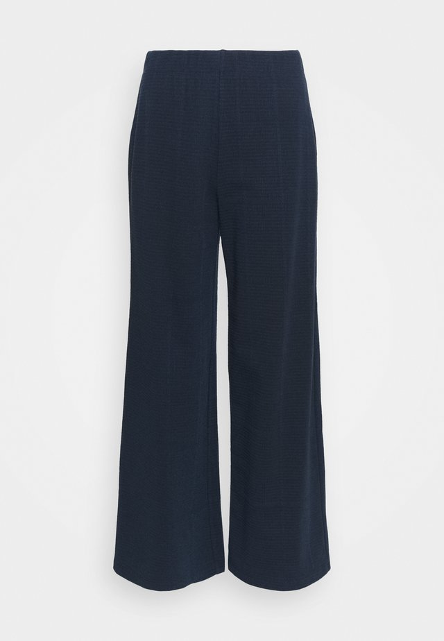 TAMMIE ANKLE PANTS - Trousers - sky captain